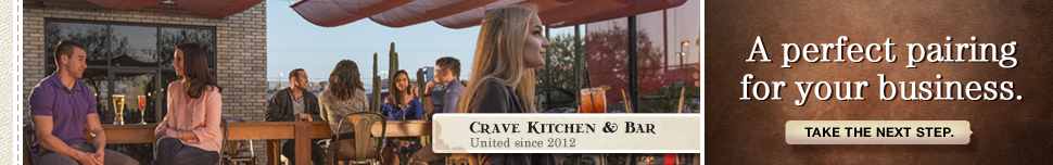 Crave Kitchen & Bar – A perfect pairing for your business.
